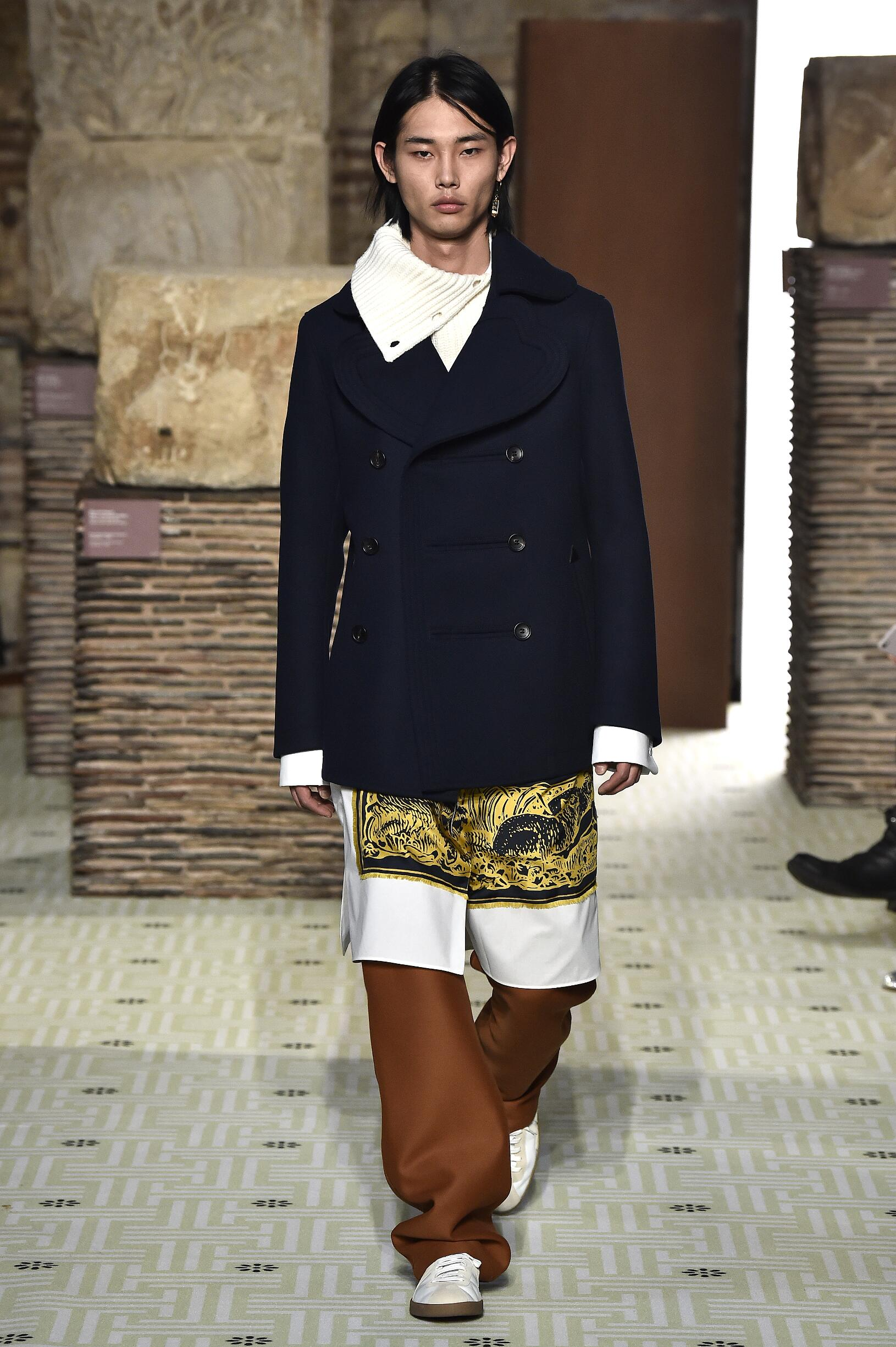 Lanvin Paris Fashion Week Menswear Trends