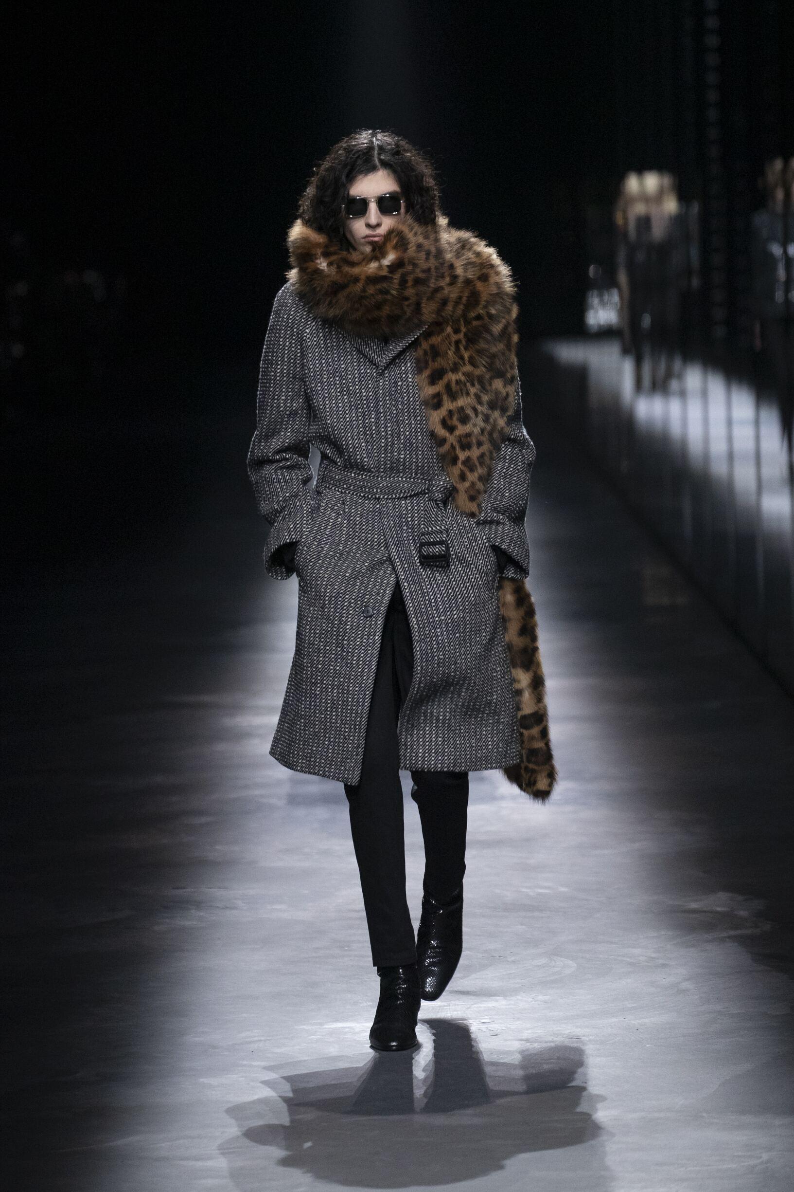Menswear Fall Winter Saint Laurent 2019