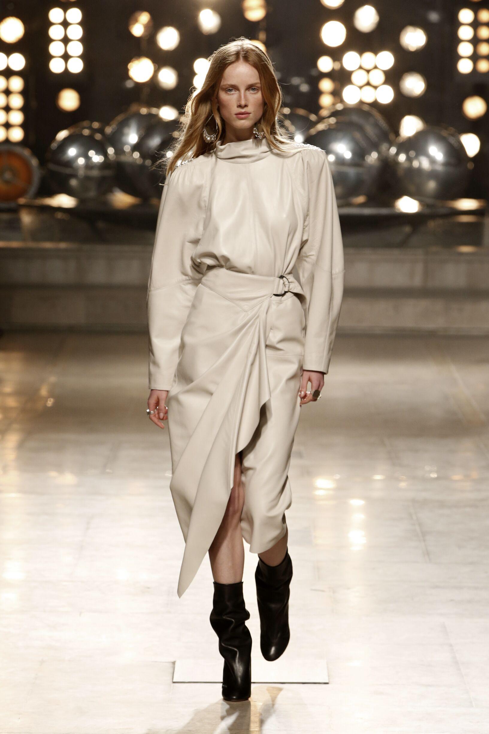 Model Fashion Show Isabel Marant