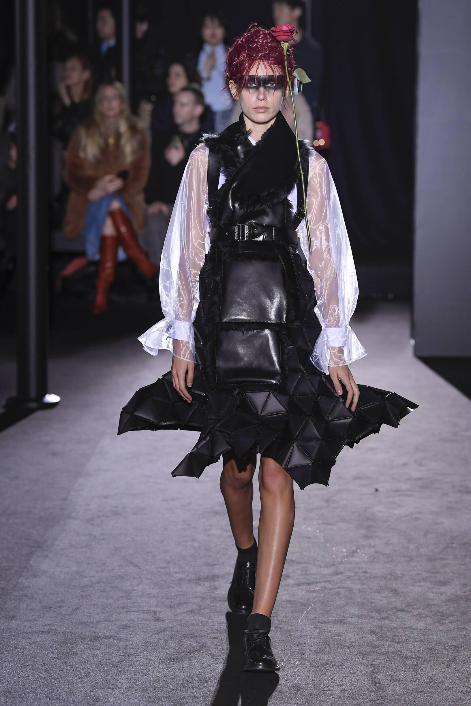 Noir Kei Ninomiya Fall Winter 2019 Womens Collection Paris Fashion Week