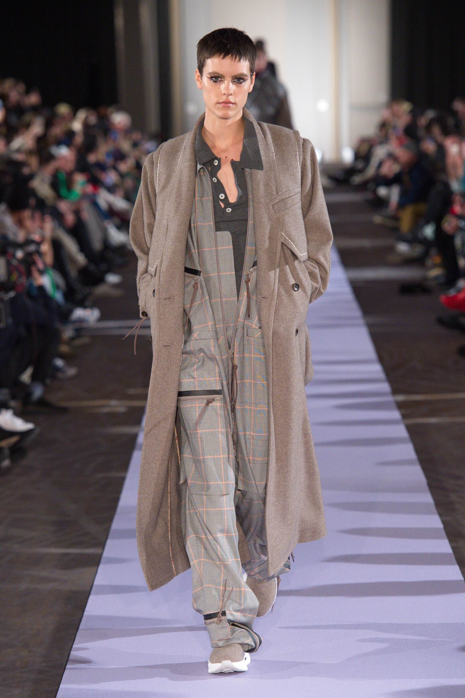 Runway Andreas Kronthaler for Vivienne Westwood Fall Winter 2019 Collection Paris Fashion Week