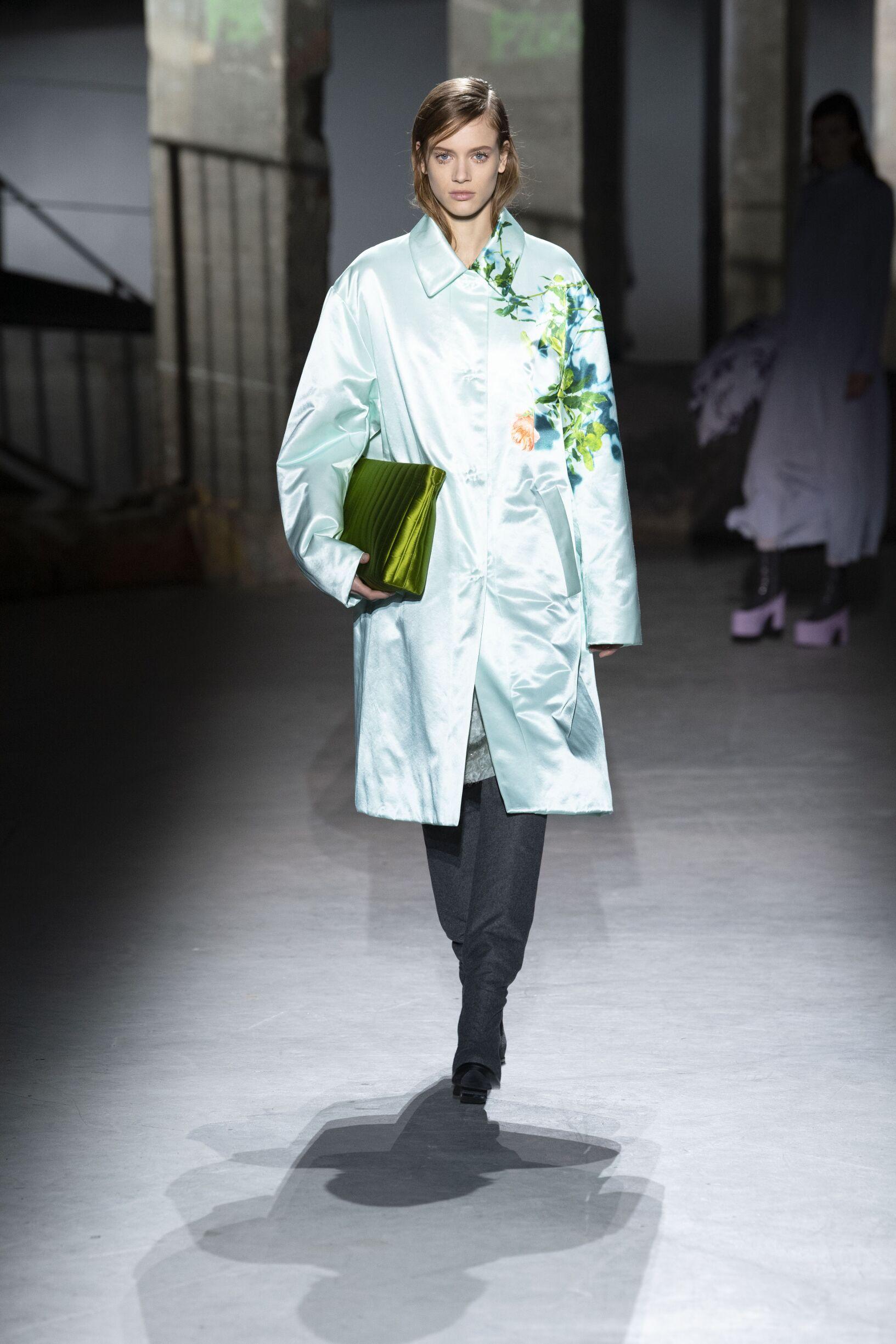 Runway Dries van Noten Fall Winter 2019 Collection Paris Fashion Week
