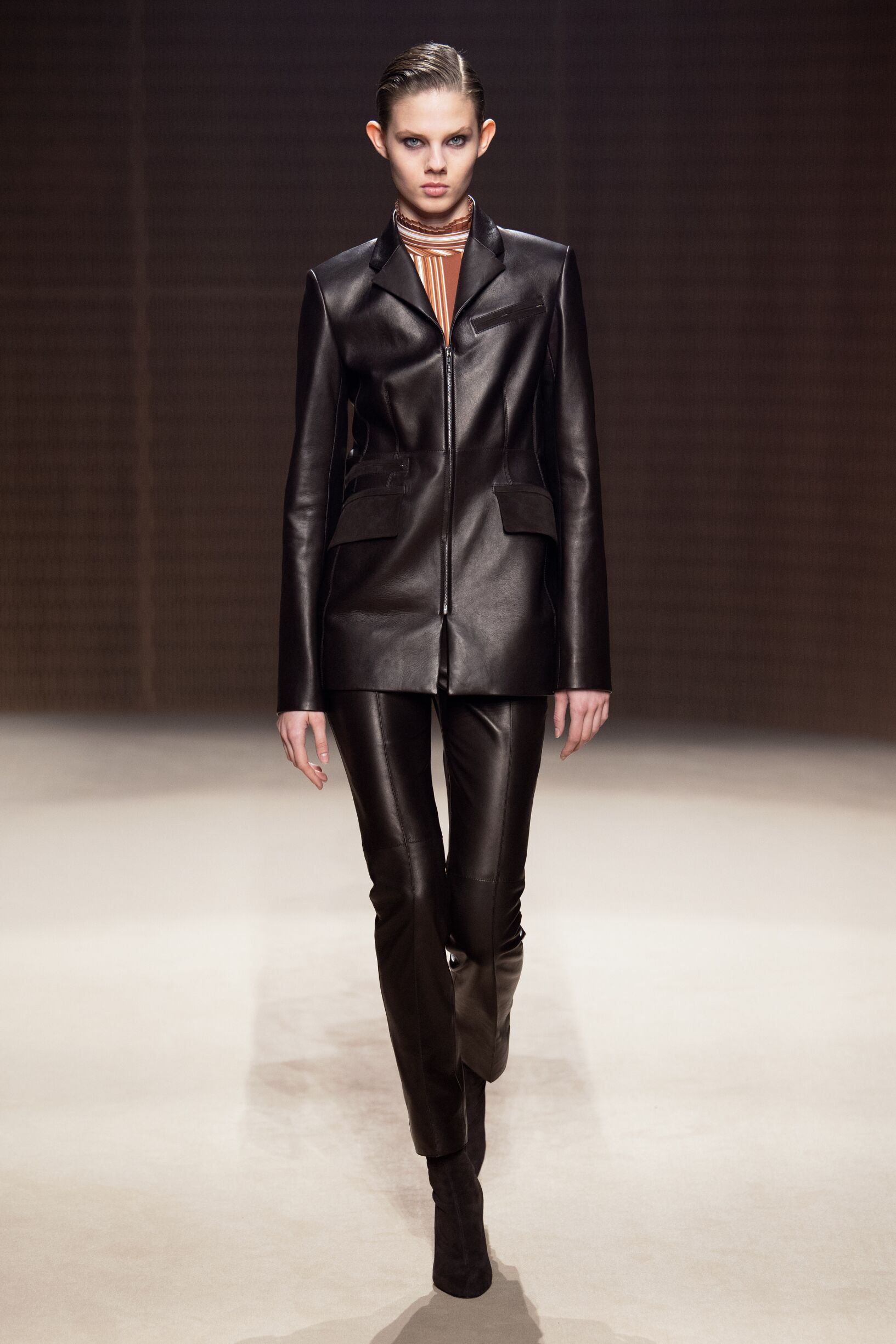 Runway Hermès Fall Winter 2019 Collection Paris Fashion Week