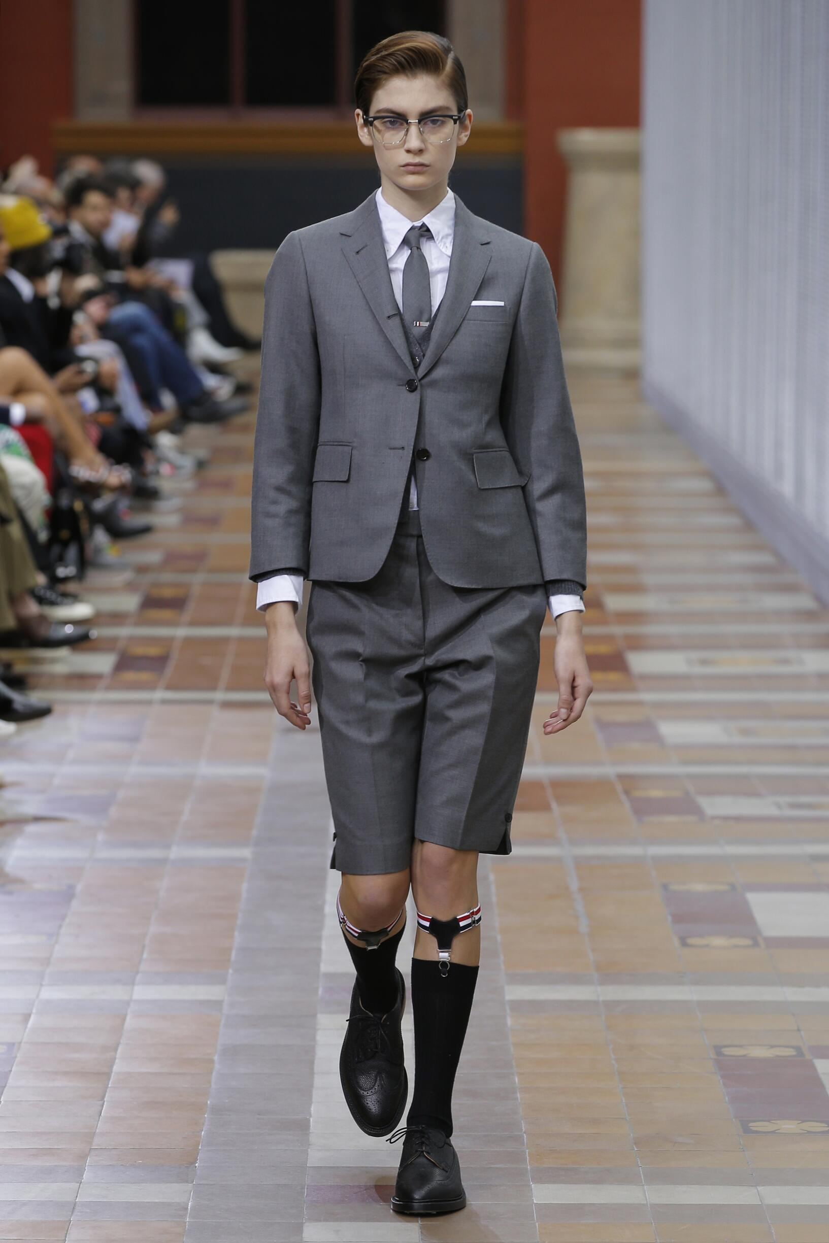 Runway Thom Browne Fall Winter 2019 Collection Paris Fashion Week