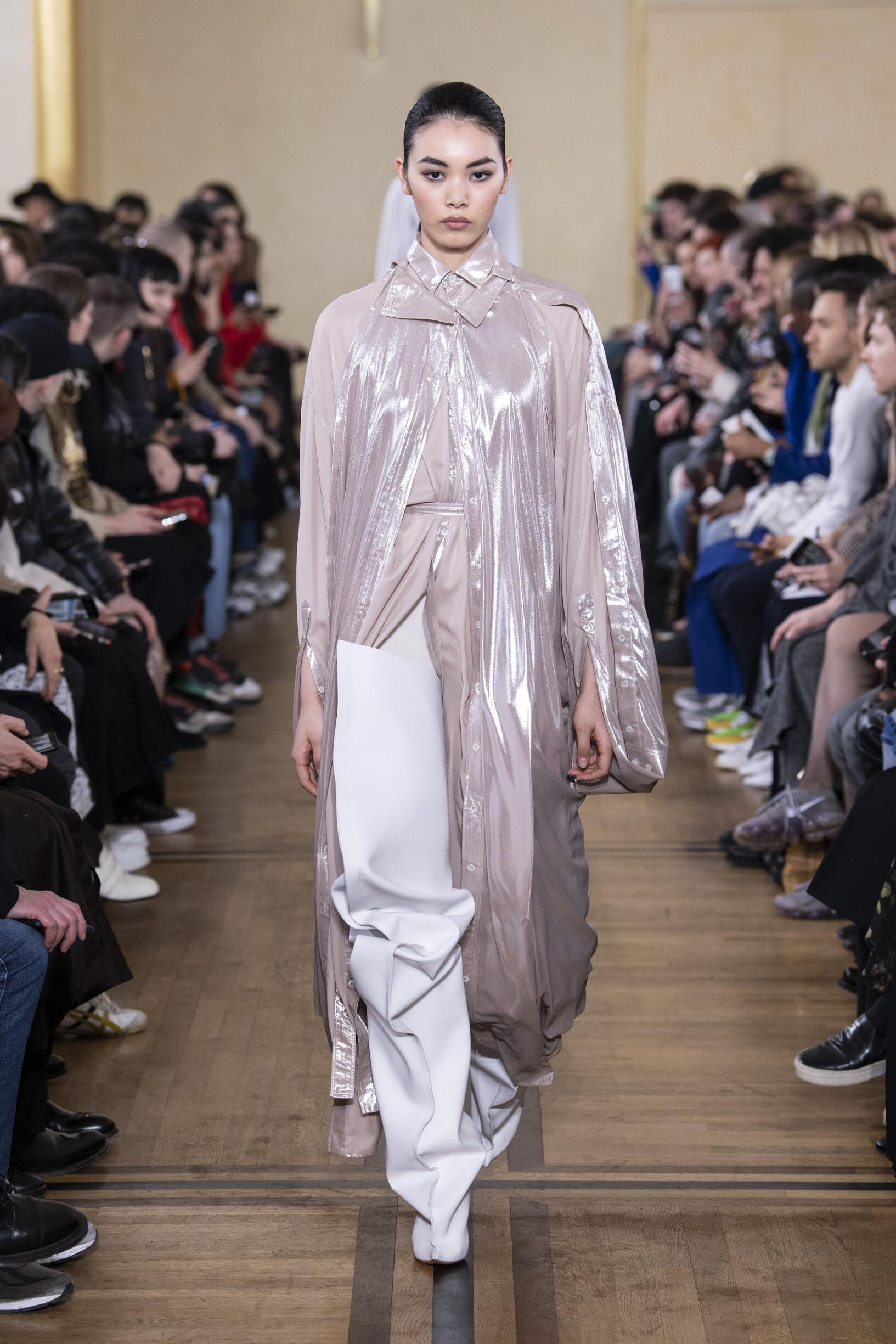 Runway Y/Project Fall Winter 2019 Collection Paris Fashion Week