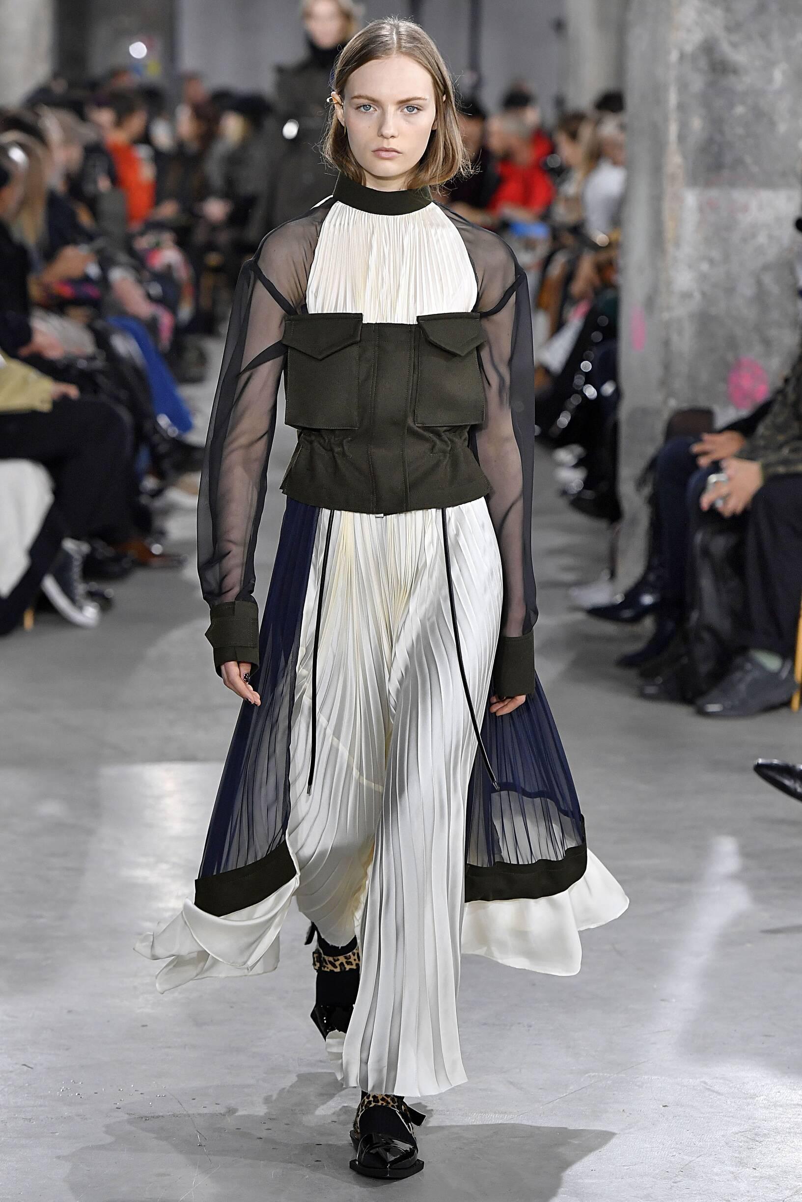 Sacai Womenswear Fashion Show