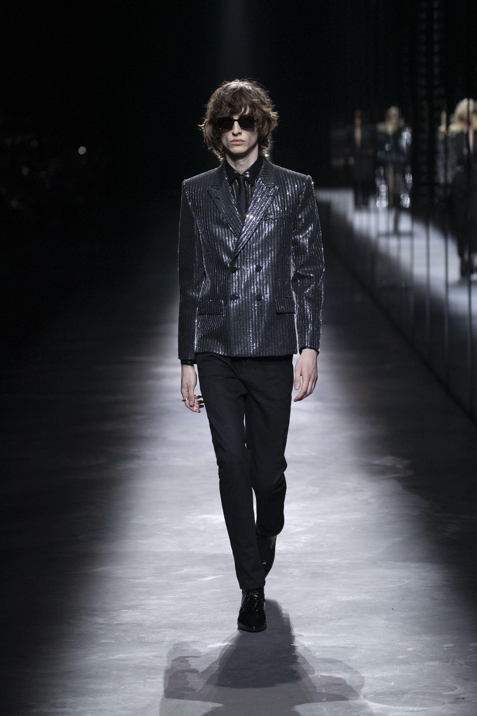 Saint Laurent 2019 Paris Trends Menswear