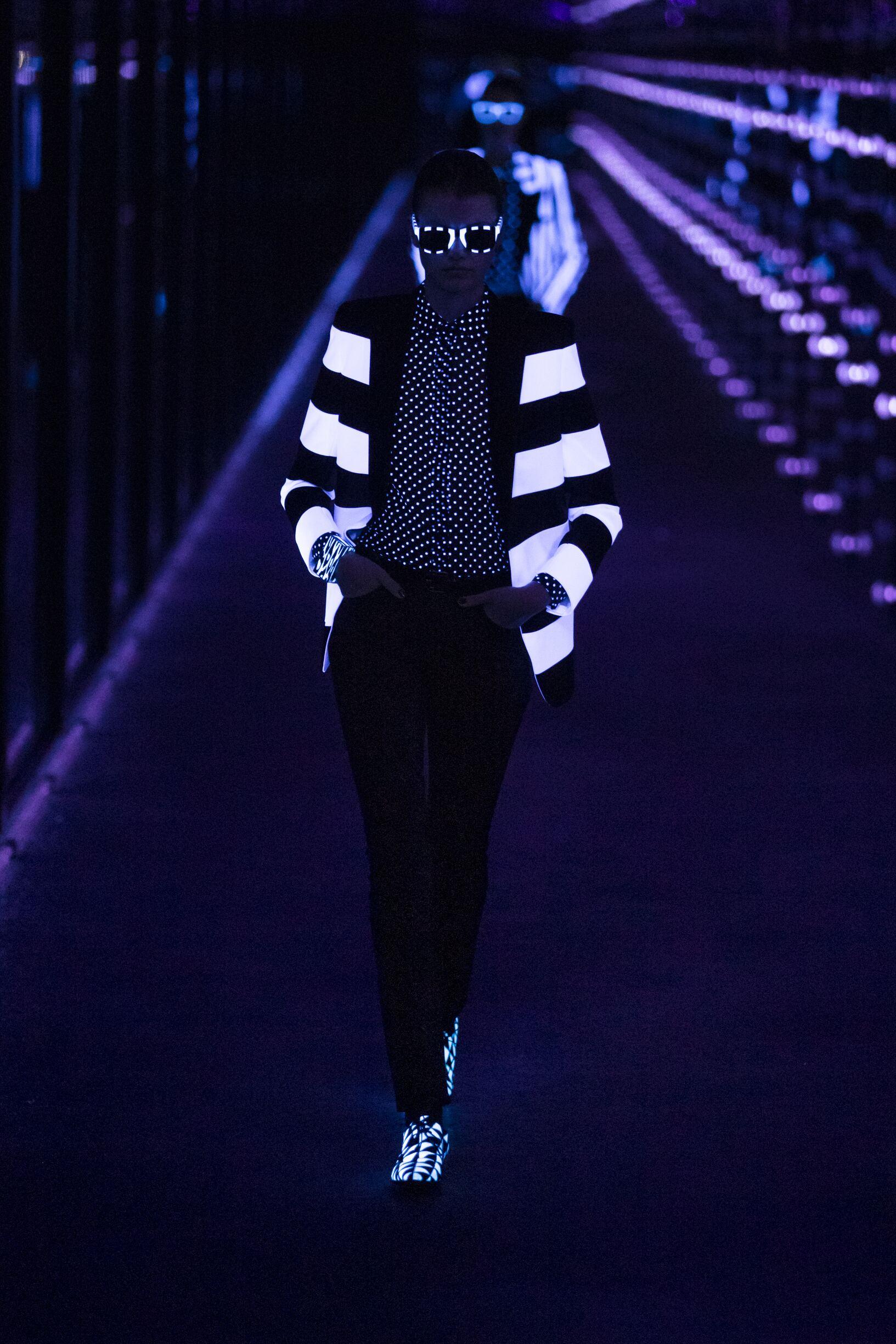 Saint Laurent Model Collection Style