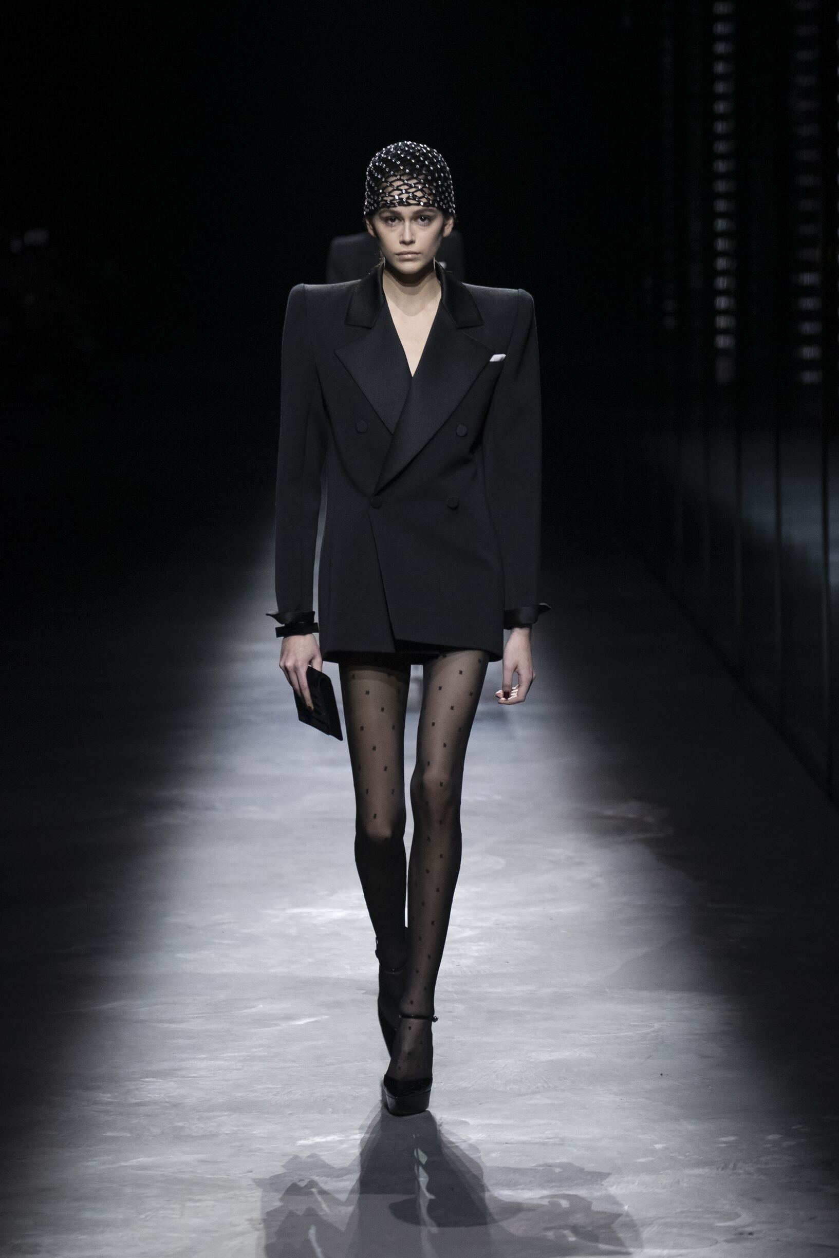 Saint Laurent Womenswear Collection Trends Winter