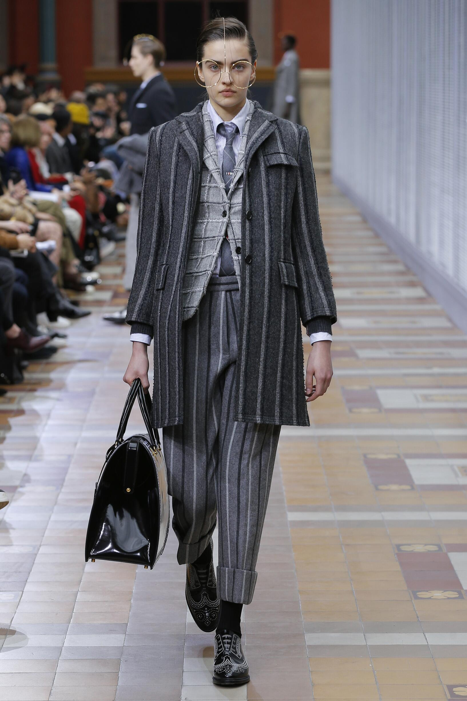 Thom Browne Paris Fashion Week Womenswear Trends