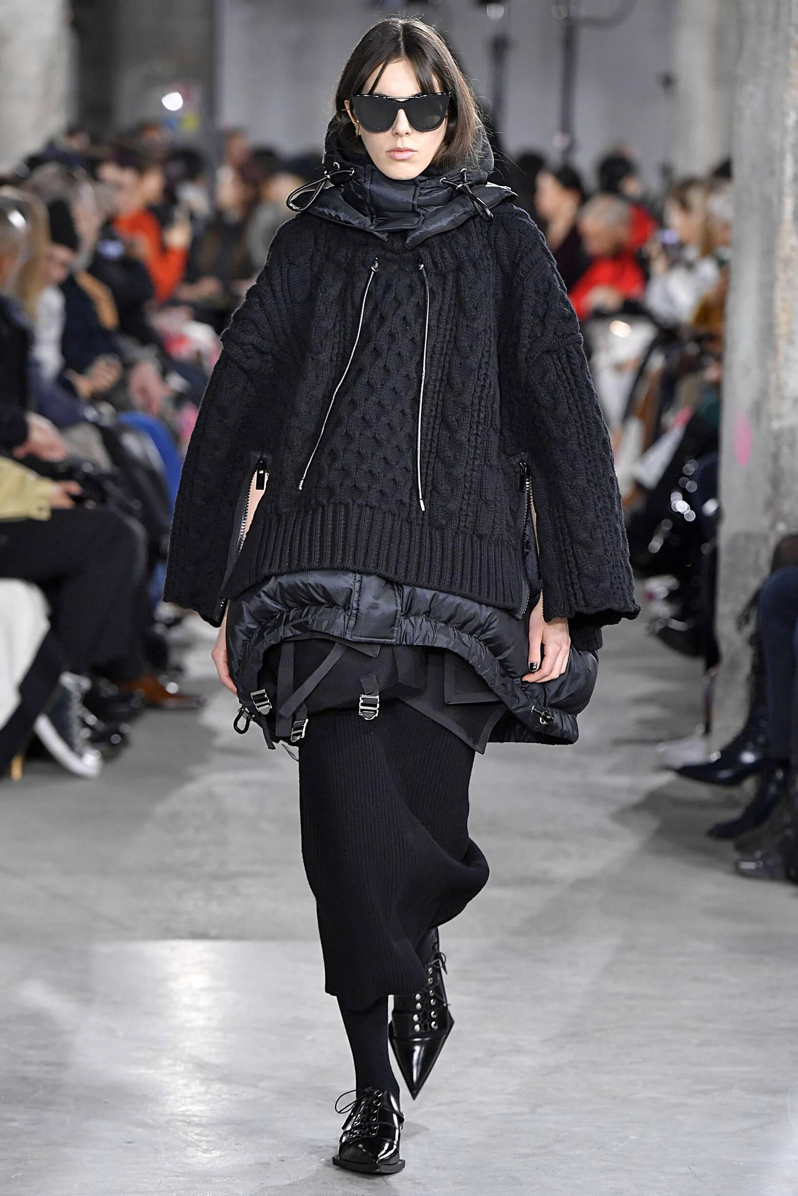 Winter 2019 Fashion Trends Sacai