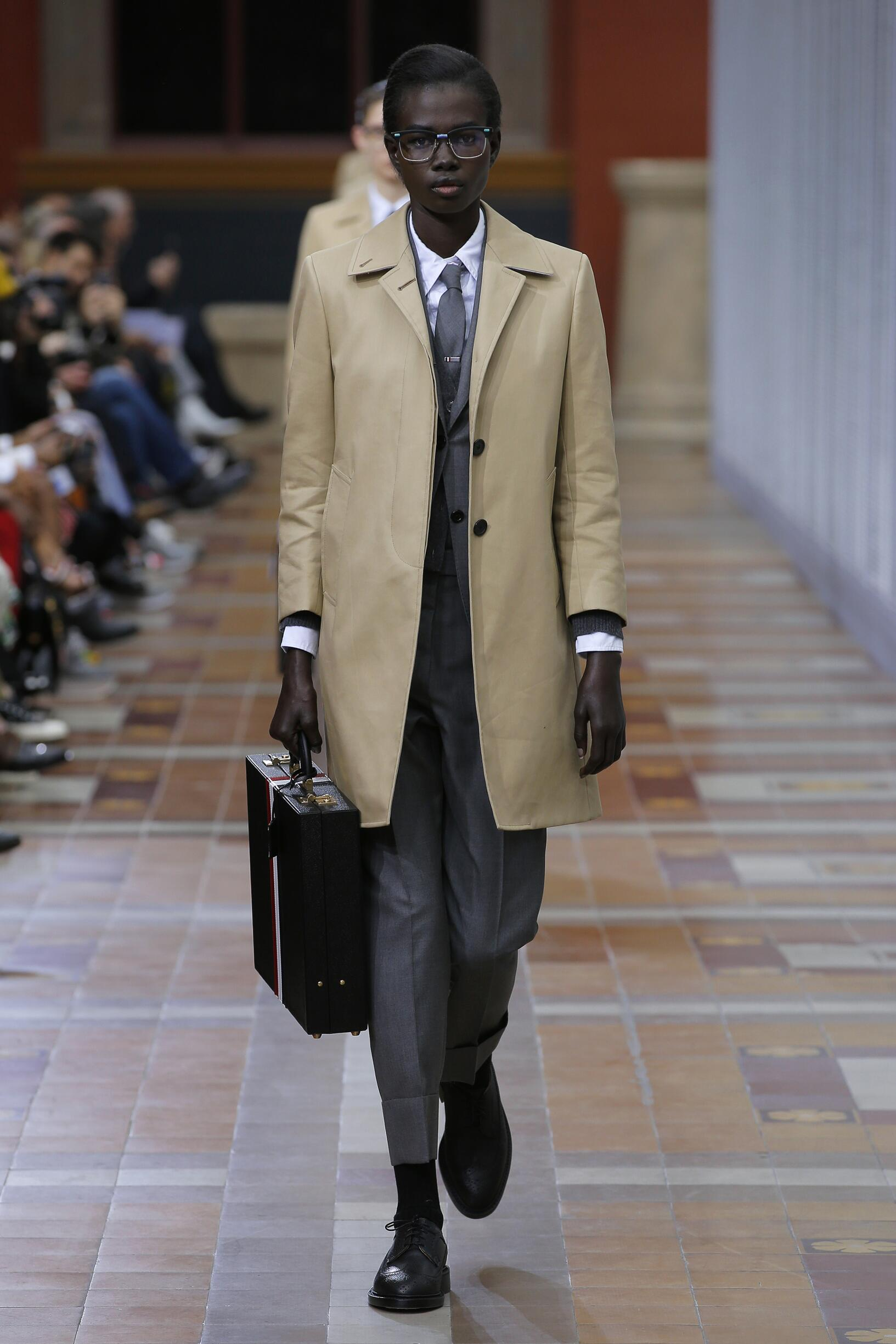 Winter 2019 Fashion Trends Thom Browne
