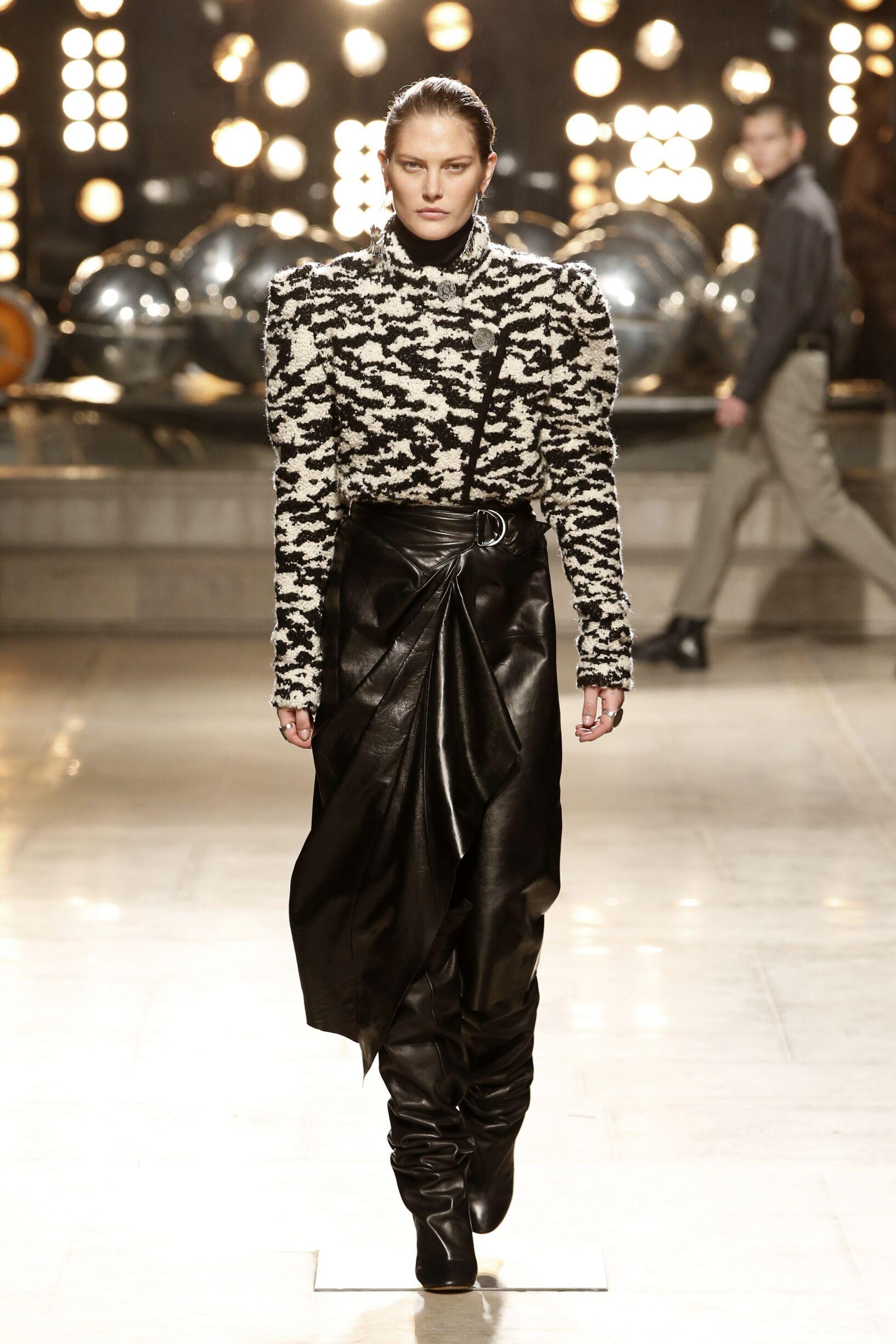 Woman FW 2019 Isabel Marant Show Paris Fashion Week
