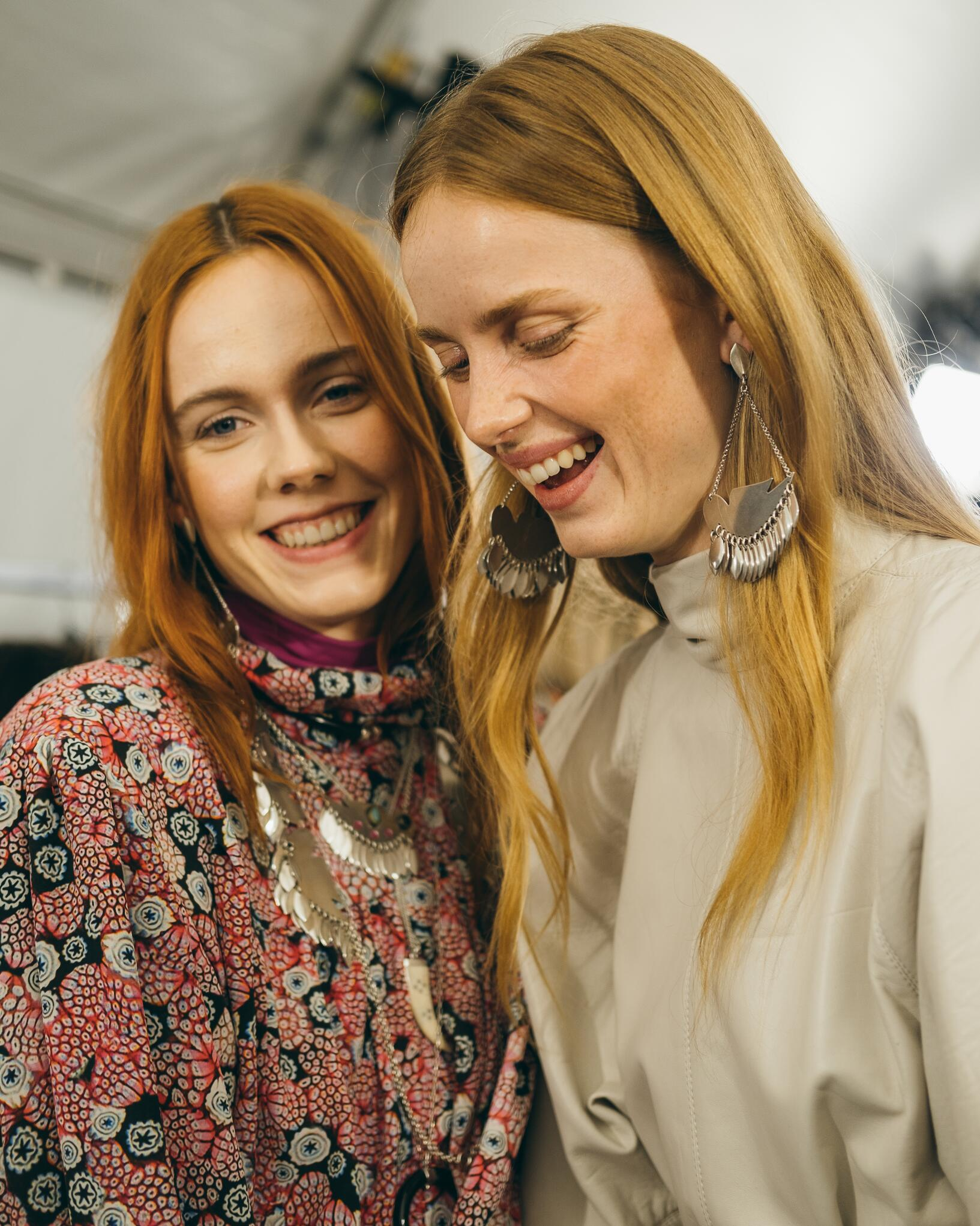 Women Models 2019 Backstage Isabel Marant