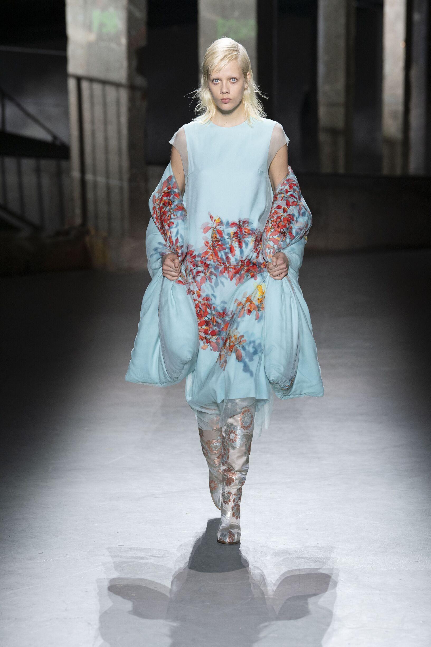 Womenswear Fall Winter Dries van Noten 2019 Trends
