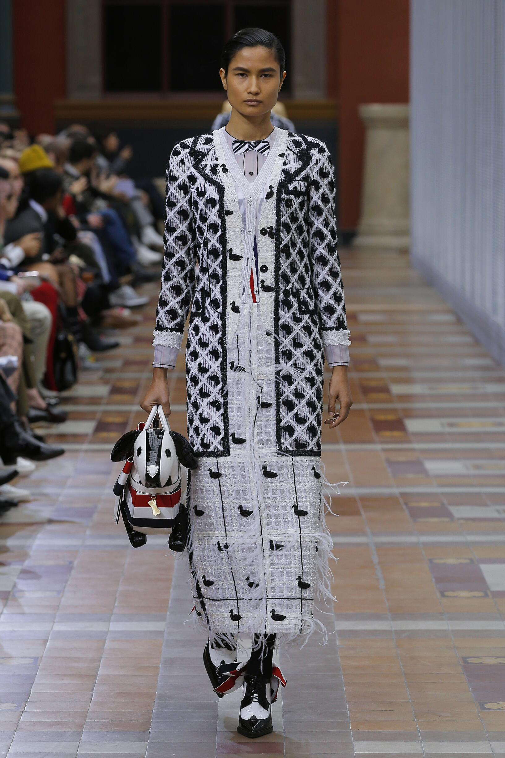 Womenswear Fall Winter Thom Browne 2019 Trends