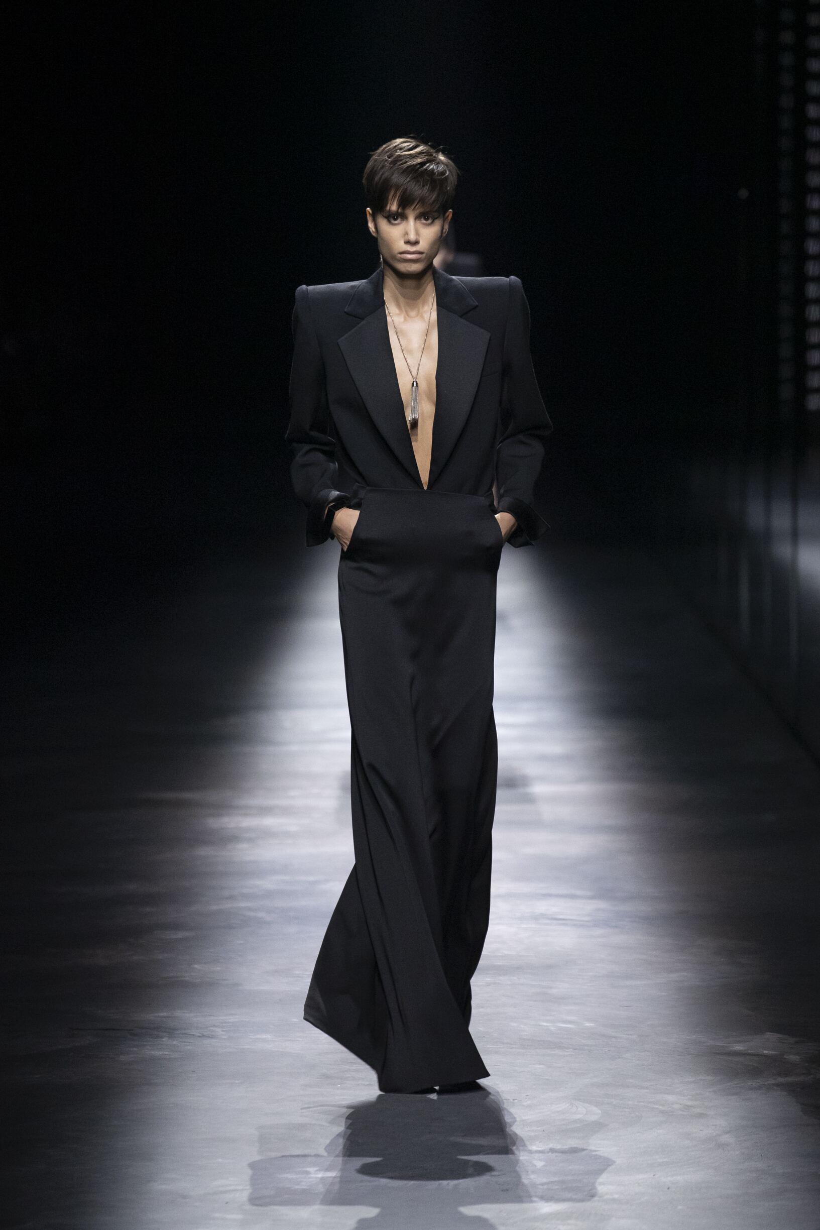 Womenswear Fashion 2019 20 Catwalk Saint Laurent