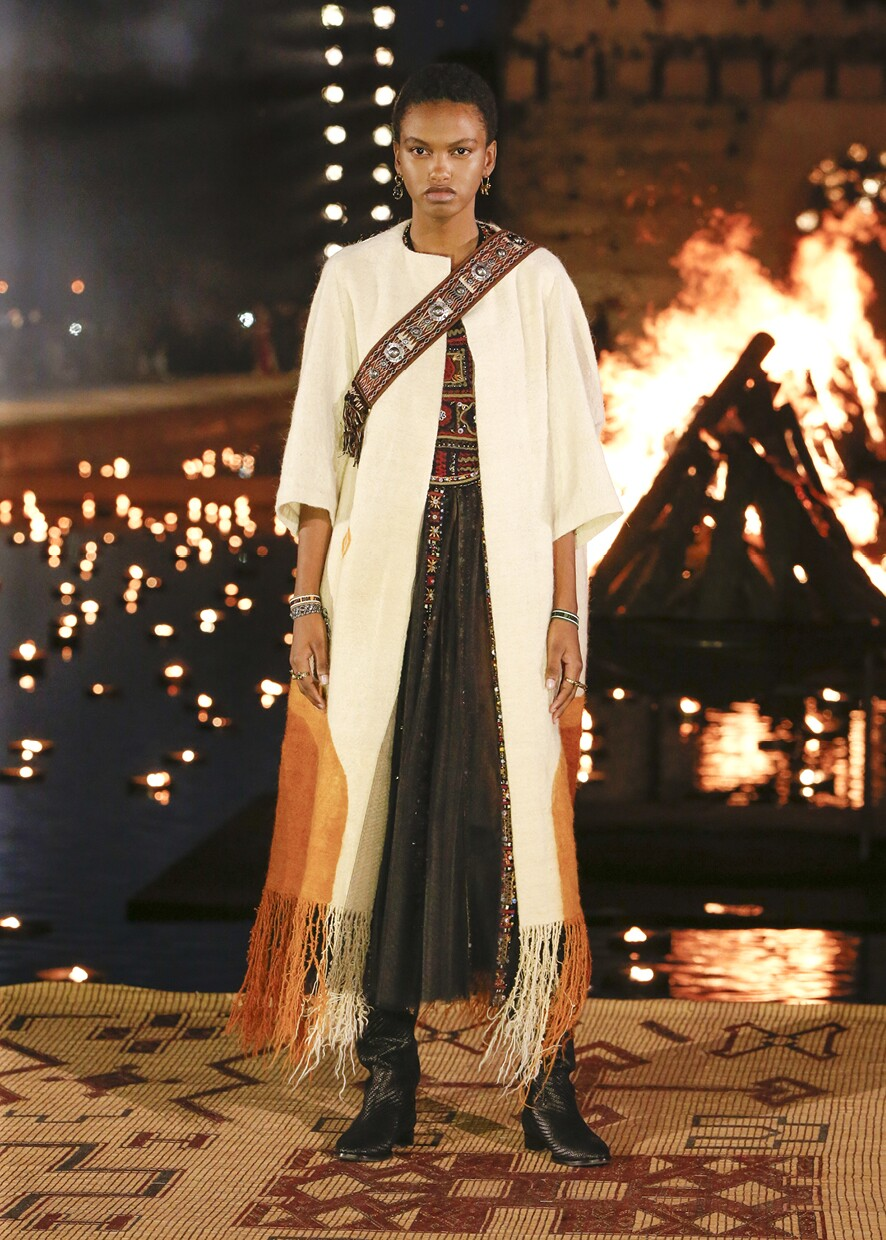 Dior Cruise 2020 Collection Look 1 - Marrakesh