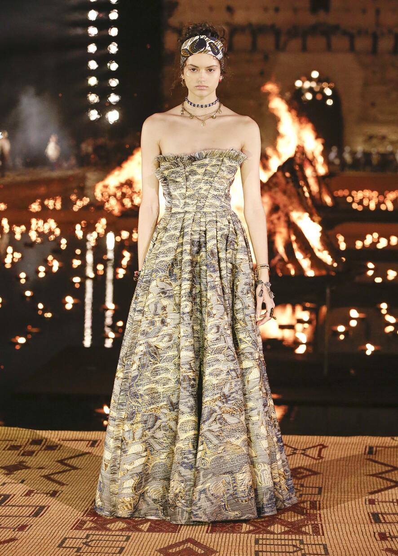Dior Cruise 2020 Collection Look 104 - Marrakesh