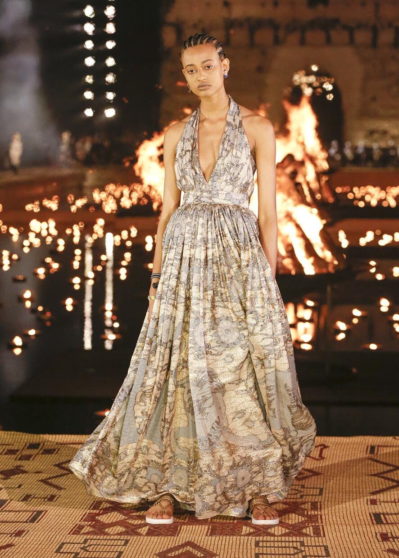 Dior Cruise 2020 Collection Look 105 - Marrakesh