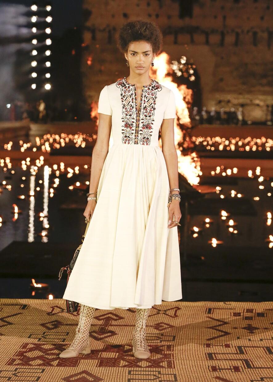 Dior Cruise 2020 Collection Look 12 - Marrakesh