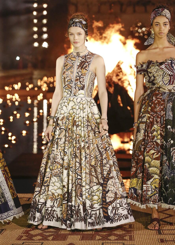 Dior Cruise 2020 Collection Look 14 - Marrakesh
