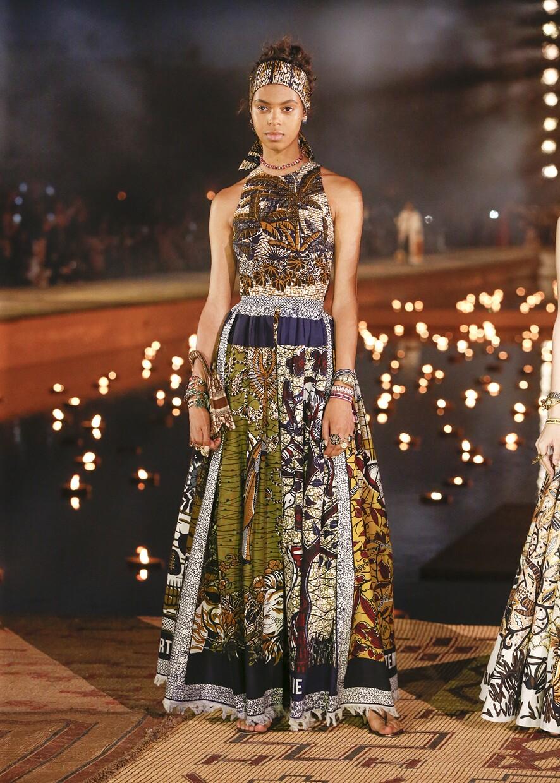 Dior Cruise 2020 Collection Look 15 - Marrakesh