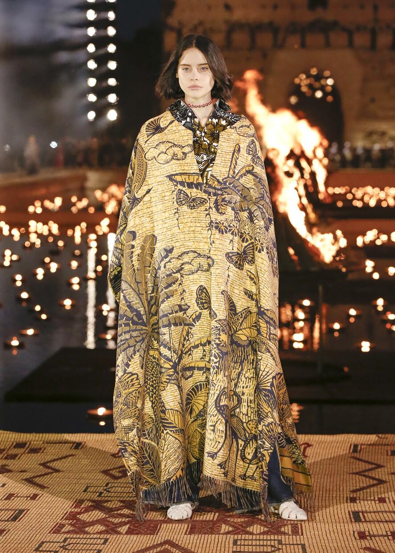 Dior Cruise 2020 Collection Look 17 - Marrakesh