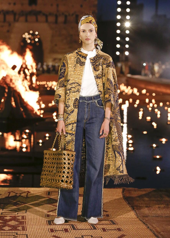Dior Cruise 2020 Collection Look 18 - Marrakesh