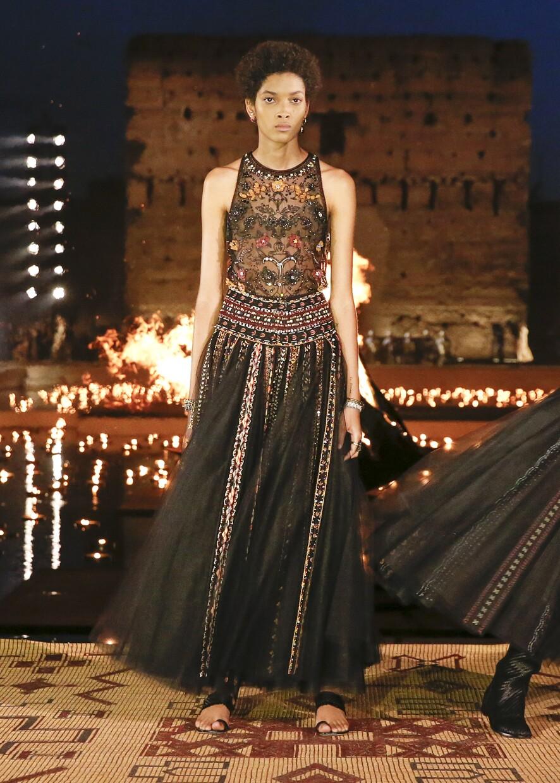 Dior Cruise 2020 Collection Look 25 - Marrakesh