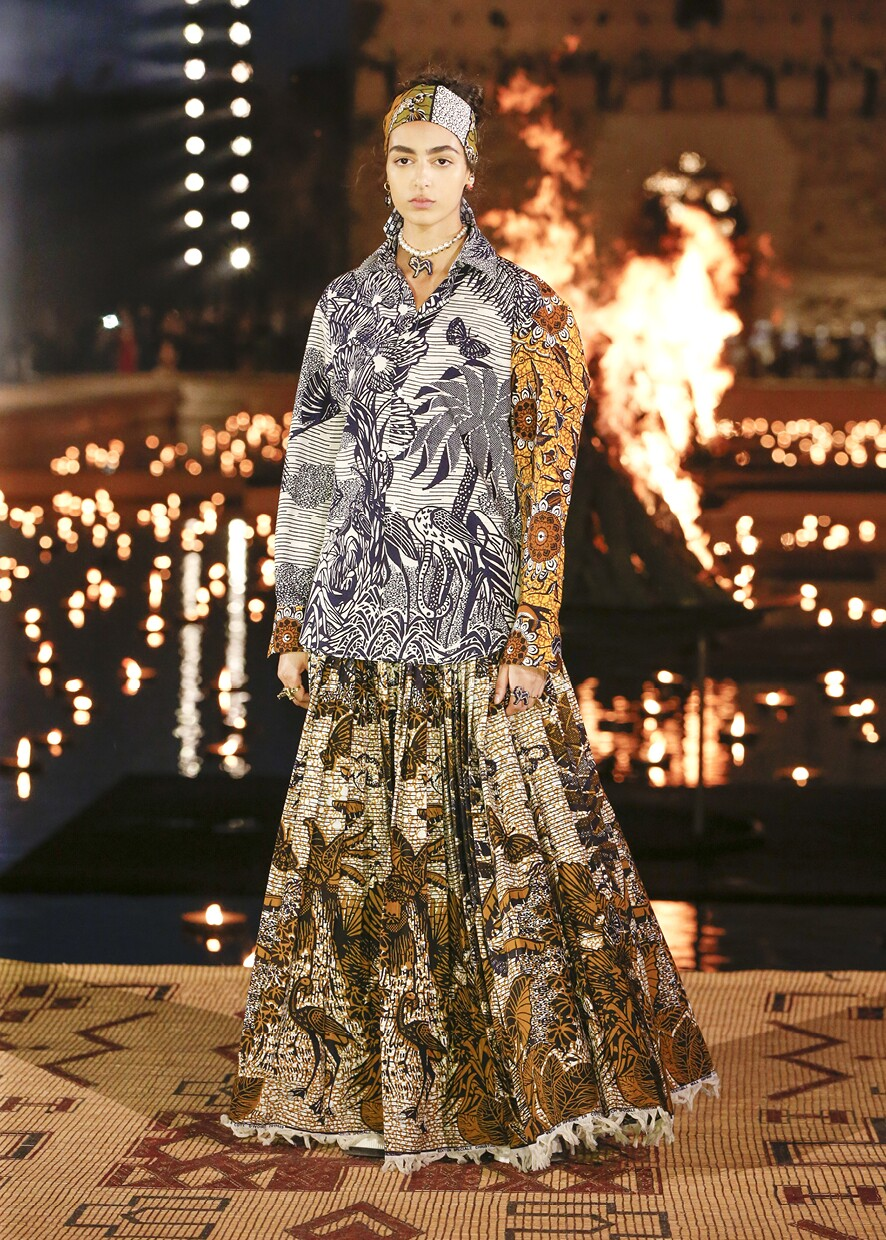 Dior Cruise 2020 Collection Look 3 - Marrakesh
