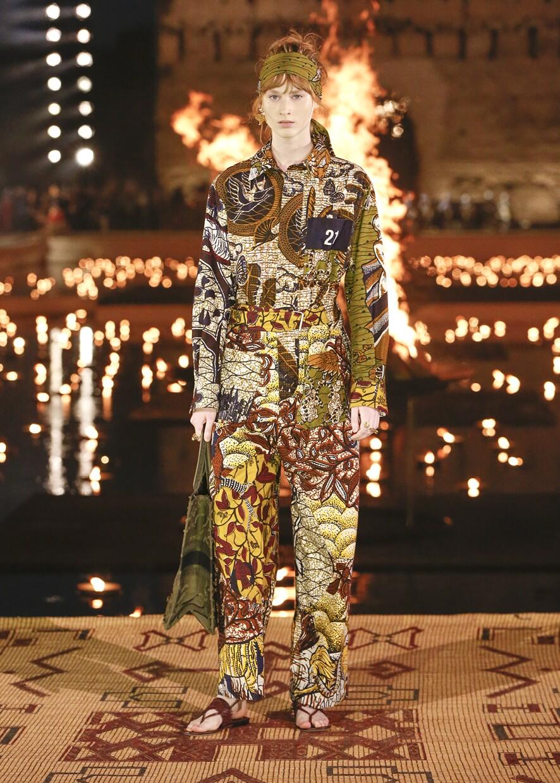 Dior Cruise 2020 Collection Look 34 - Marrakesh
