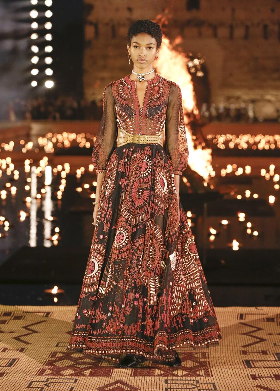 Dior Cruise 2020 Collection Look 35 - Marrakesh