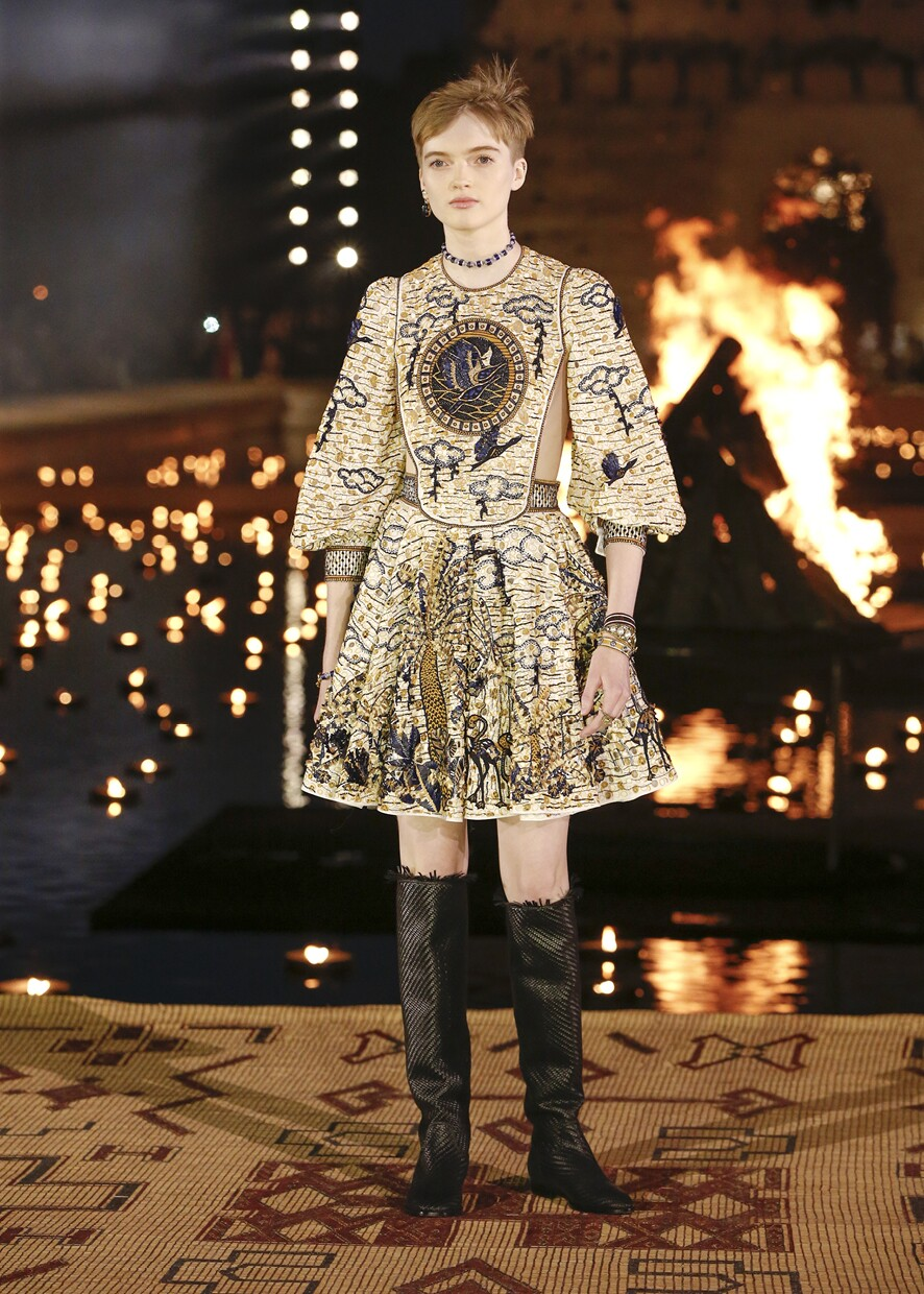 Dior Cruise 2020 Collection Look 4 - Marrakesh