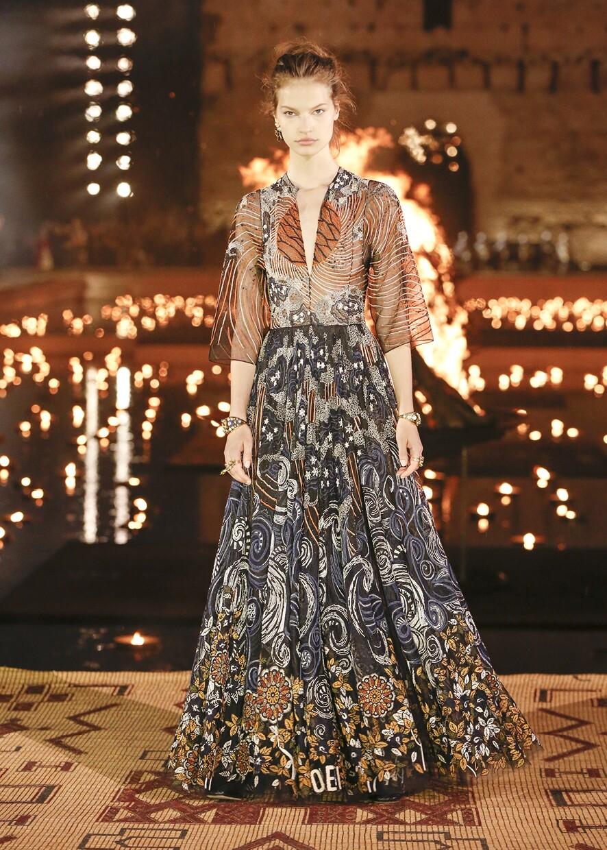 Dior Cruise 2020 Collection Look 41 - Marrakesh