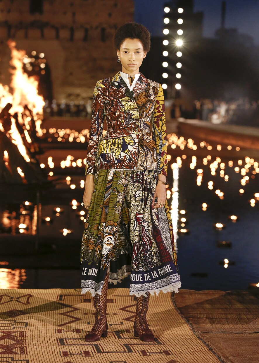 Dior Cruise 2020 Collection Look 5 - Marrakesh