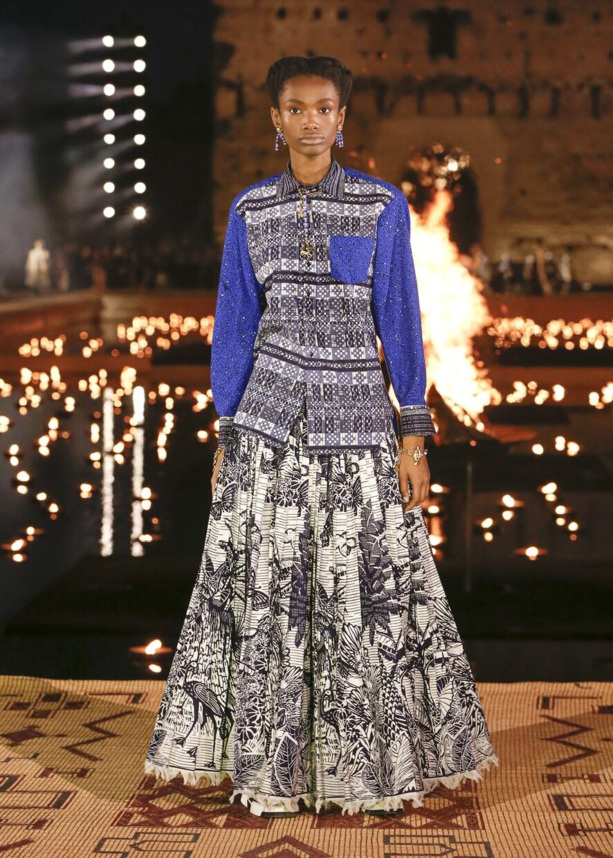 Dior Cruise 2020 Collection Look 58 - Marrakesh