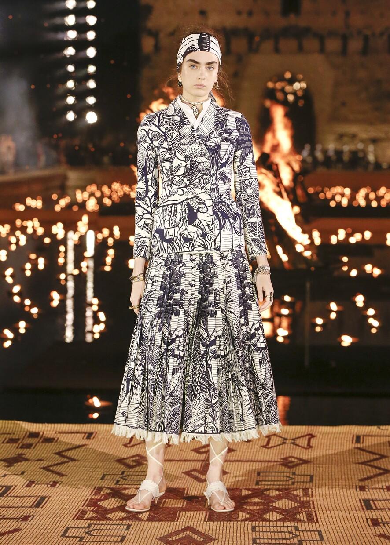 Dior Cruise 2020 Collection Look 60 - Marrakesh