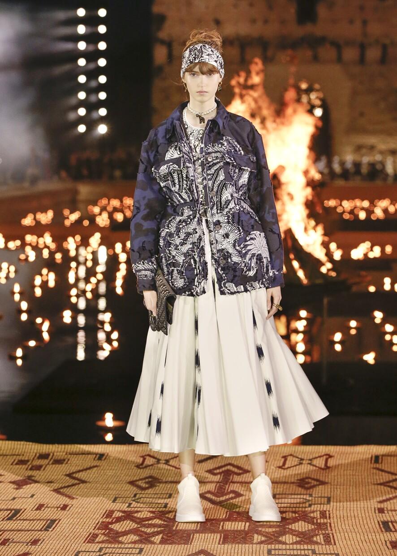Dior Cruise 2020 Collection Look 72 - Marrakesh