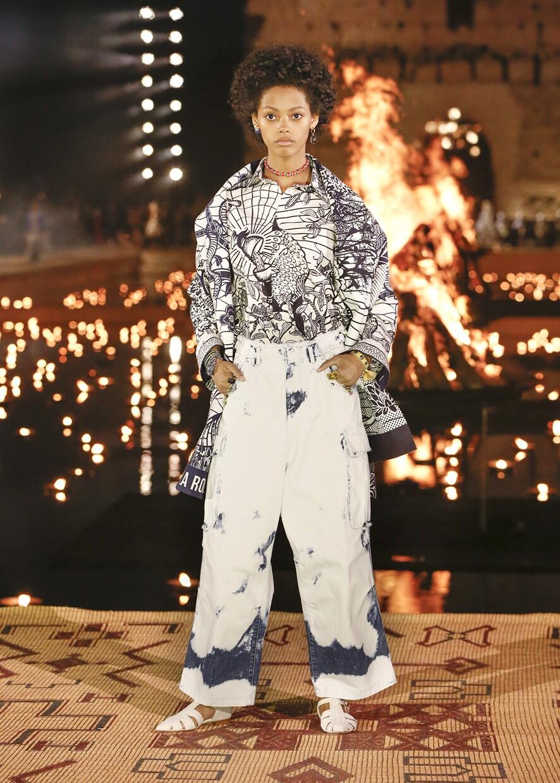 Dior Cruise 2020 Collection Look 73 - Marrakesh