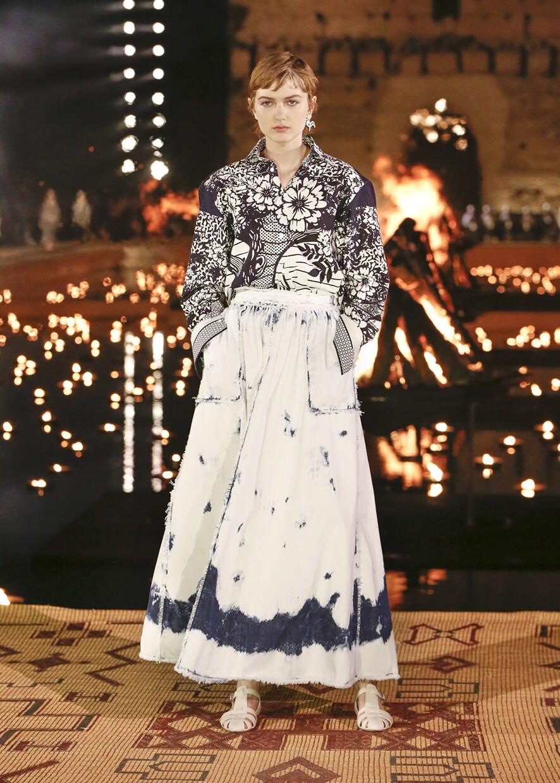 Dior Cruise 2020 Collection Look 75 - Marrakesh