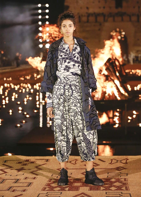 Dior Cruise 2020 Collection Look 77 - Marrakesh