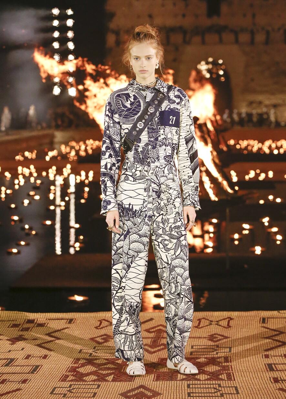 Dior Cruise 2020 Collection Look 78 - Marrakesh