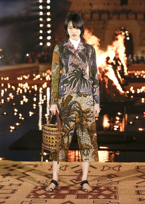 Dior Cruise 2020 Collection Look 8 - Marrakesh