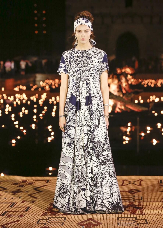 Dior Cruise 2020 Collection Look 80 - Marrakesh