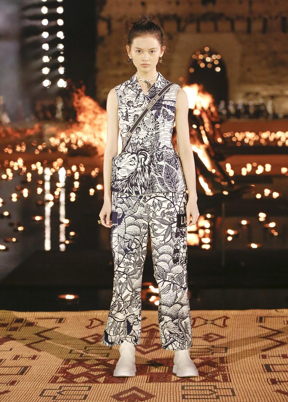 Dior Cruise 2020 Collection Look 85 - Marrakesh
