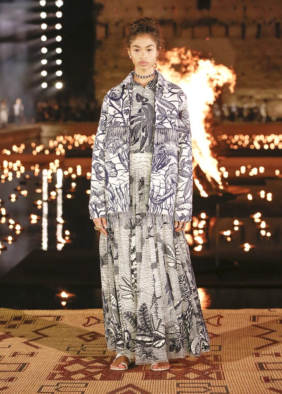 Dior Cruise 2020 Collection Look 86 - Marrakesh