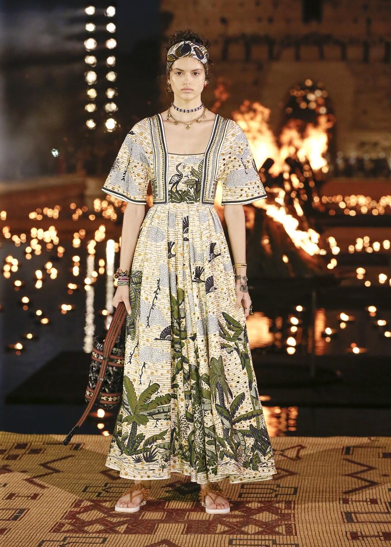 Dior Cruise 2020 Collection Look 9 - Marrakesh
