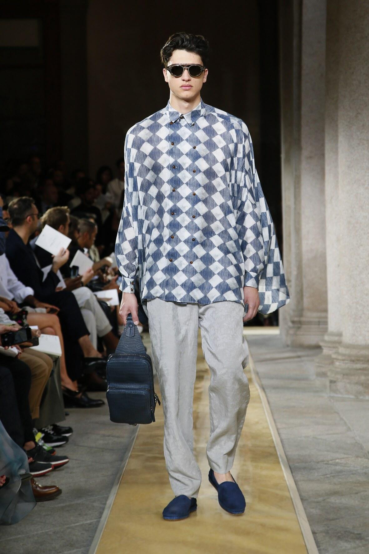 2020 Catwalk Giorgio Armani Summer Man Collection