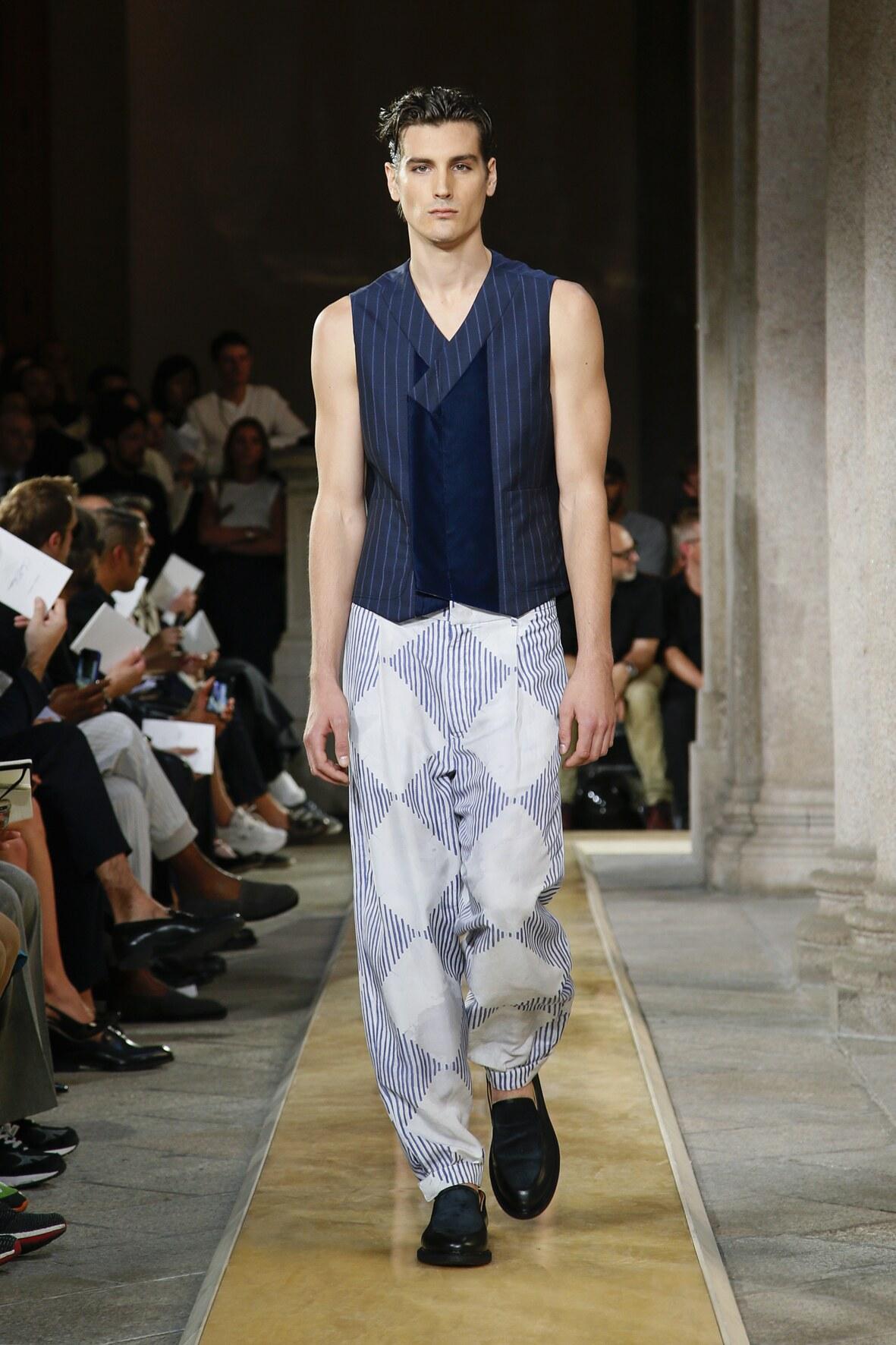 2020 Catwalk Giorgio Armani Summer